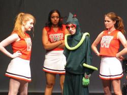 Revenge of the nerds parody cheerleaders brooklyn lee